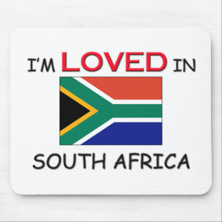 I m Loved In SOUTH AFRICA Mouse Mats