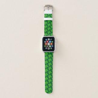 I'm Lucky Clover Apple Watch Band