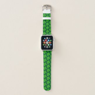 I'm Lucky Clover Apple Watch Band