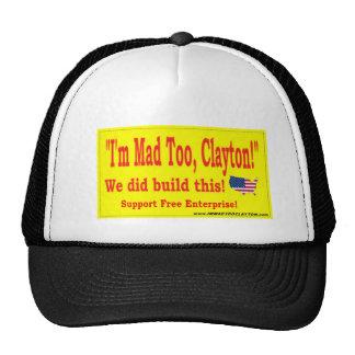 I M MAD TOO CLAYTON MESH HATS