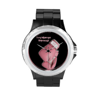 I m Mama Strong Watches