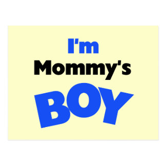 I m Mommy s Boy T-shirts and Gifts Postcards