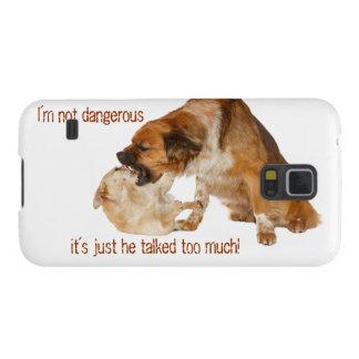 ¡I´m no peligroso, él habló demasiado! Carcasas De Galaxy S5
