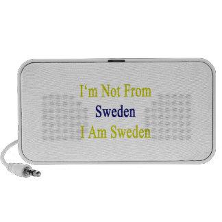 I m Not From Sweden I Am Sweden Speaker
