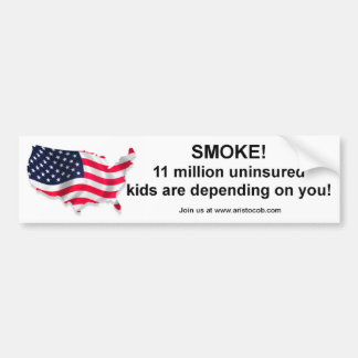 I m not smoking I m insuring the Children Bumper Sticker
