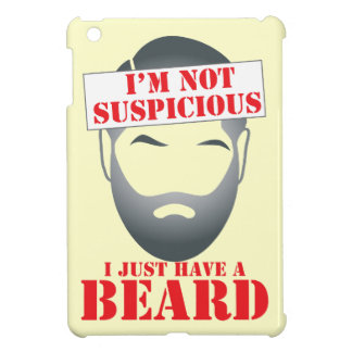 I'm not suspicious - I just have a BEARD Case For The iPad Mini