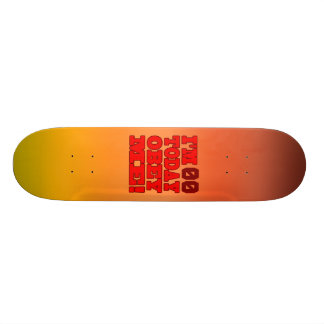 I m - Obey Me Funny Customize Birthday Template Skate Board