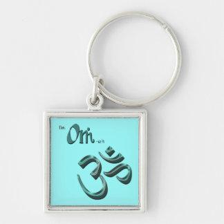 I m Om-ish Om Symbol Aum Keychains