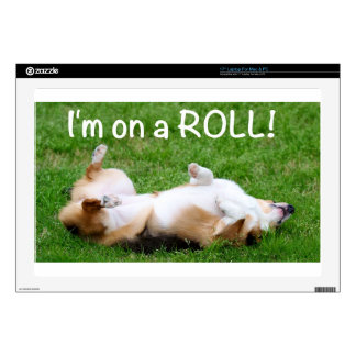i m on a ROLL Skins For Laptops