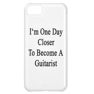 I m One Day Closer To Become A Guitarist Cover For iPhone 5C