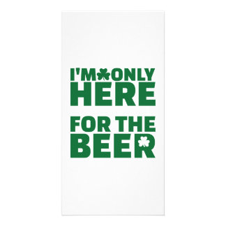 I'm only here for the beer card