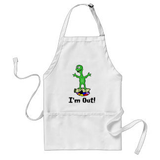 I'm Out Turtle Apron Aprons
