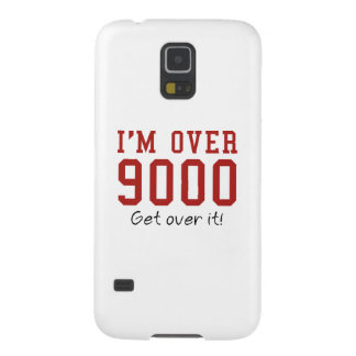 I'm Over 9000. Get Over It! Galaxy S5 Cover