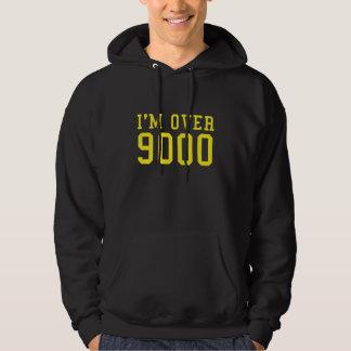 I'm Over 9000 Hooded Sweatshirt