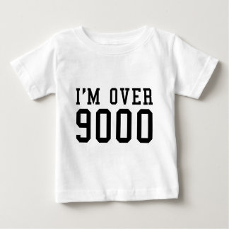 I'm Over 9000 T-shirts