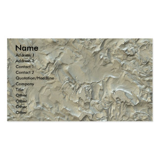 I m Plastered Business Card