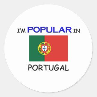 I m Popular In PORTUGAL Stickers