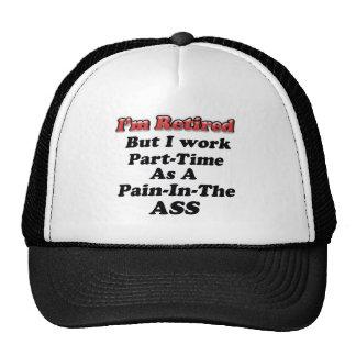 I m Retired Trucker Hat