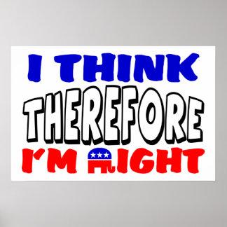 I m Right Print
