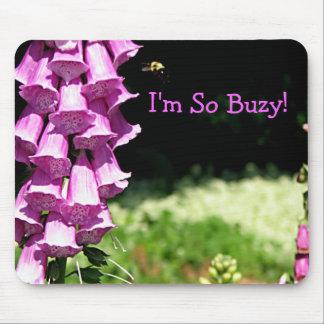 I m So Buzy Mouse Mats