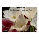 I 'm so happy I married you Greeting Cards
