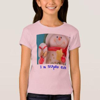 I m Super Cute T Shirt for Girls