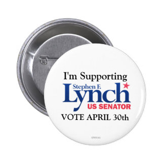 I m Supporting Stephen Lynch for Senate Button