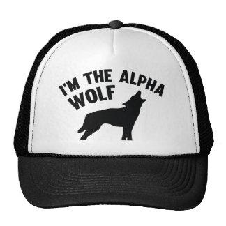 I'm The Alpha Wolf Trucker Hat
