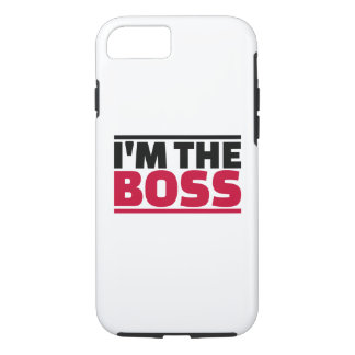 I'm the boss iPhone 8/7 case
