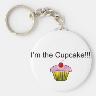 I'm the Cupcake!!! with Sprinkles Key Chains