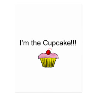 I'm the Cupcake!!! with Sprinkles Postcard
