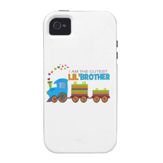 I m the cutest Lil Brother iPhone 4 Covers