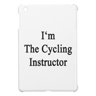 I m The Cycling Instructor Cover For The iPad Mini