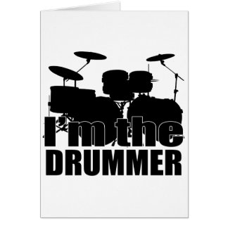 I m the Drummer Cards