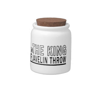 I m The King Of Javelin throw Candy Jar