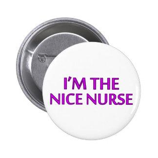 I m the Nice Nurse Button