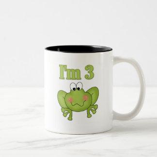 I m Three Frog Tshirts and Gifts Coffee Mug