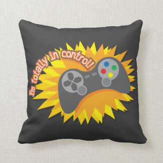I m Totally In Control Throw Pillows