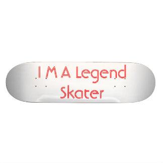 I M un patinador de la leyenda Patin Personalizado