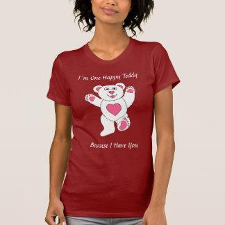 I´m un peluche afortunado camiseta