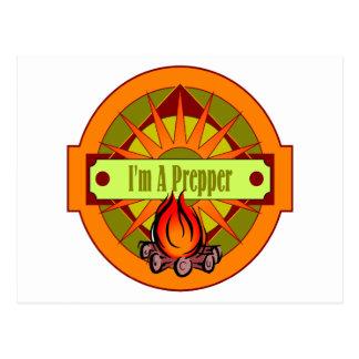 I ` m un Prepper Tarjeta Postal