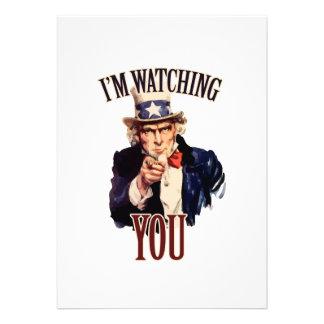 I m watching YOU Custom Invite