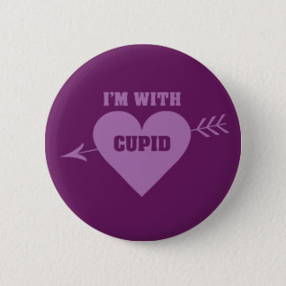 I'M WITH CUPID buttons