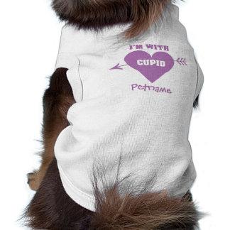 I'M WITH CUPID custom pet clothing