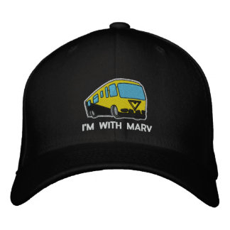 I m With Marv Embroidered Hat