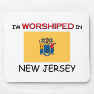 I m Worshiped In NEW JERSEY Mouse Mat