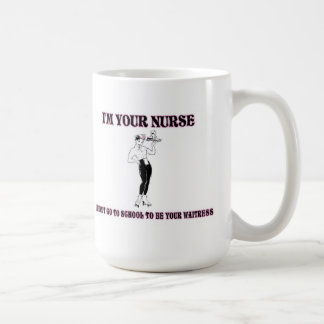 I'm Your Nurse-I Didn't Go To School To Be Your Wa Coffee Mug