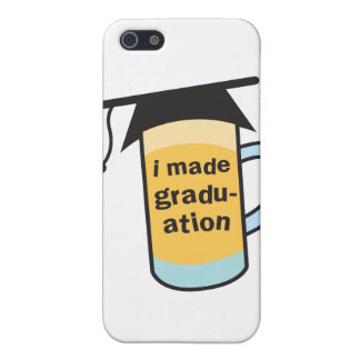 I made it to Graduation CHEERS! iPhone SE/5/5s Case