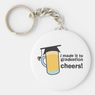 I made it to Graduation CHEERS! Keychain