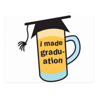 I made it to Graduation CHEERS! Postcard